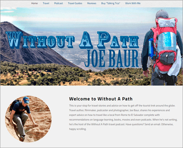 Without a Path Blog de Joe Baur
